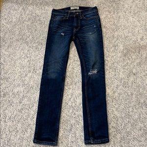 Super skinny Abercrombie kids jeans